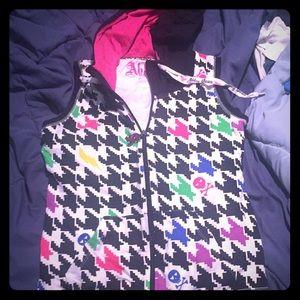 Abby Dawn sleeveless zip up hoodie
